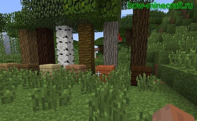 древесина майнкрафт