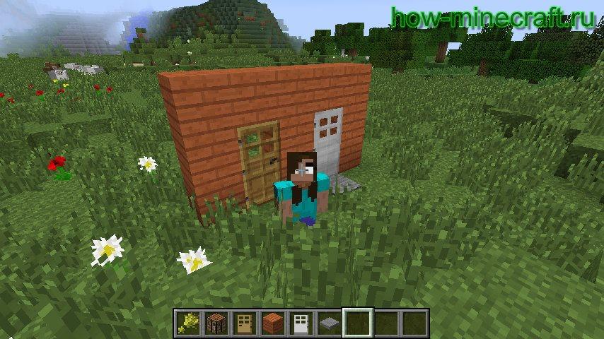 дверь в Майнкрафте