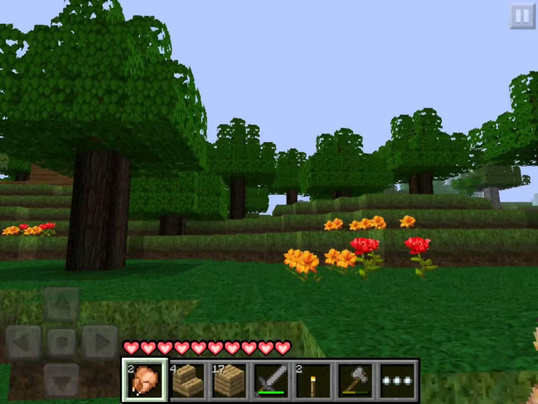 Как сделать ад в minecraft pocket edition