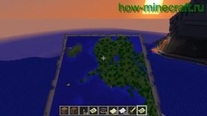 карта в Майнкрафте